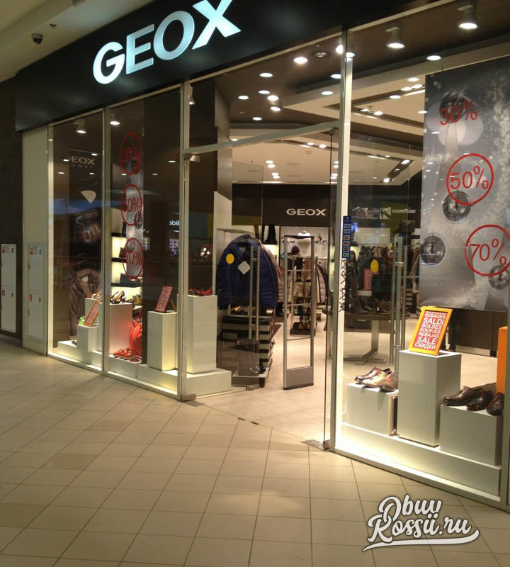 ed04a31a6 Обувной магазин Geox в ТЦ СТОКМАНН в Москва каталог - официальный сайт
